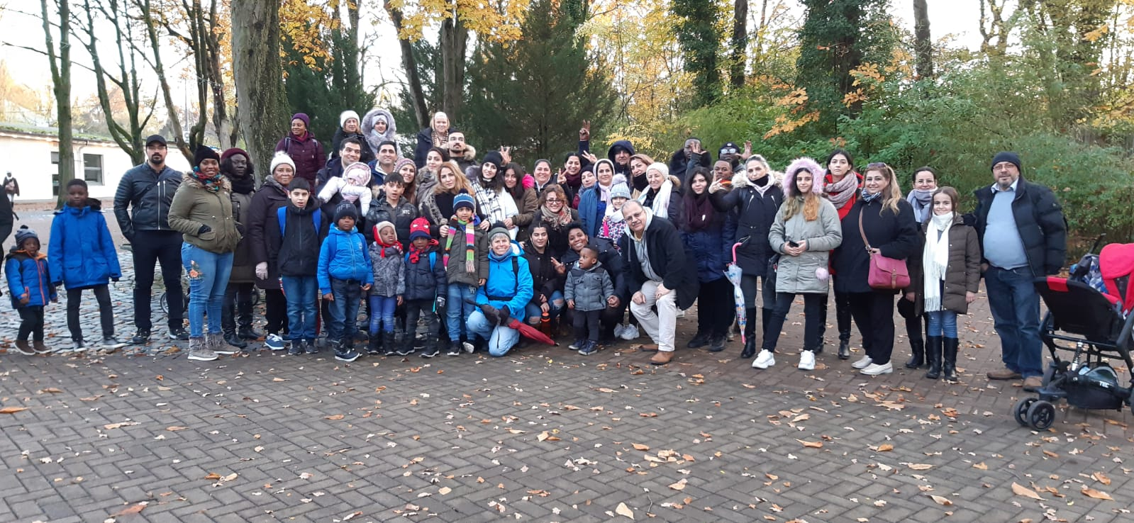 Besuch im Zoo Hannover am 16.11.2019